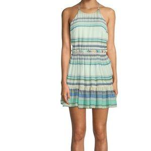 NWT Wildfox Multicolor Stripe Hanalei Halter Dress